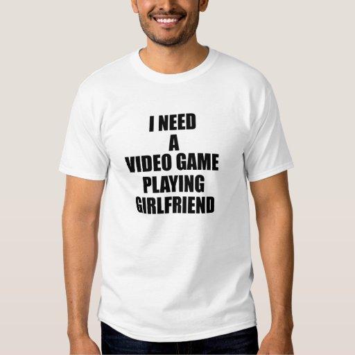 NECESITO un videojuego que juega a la novia Camisetas