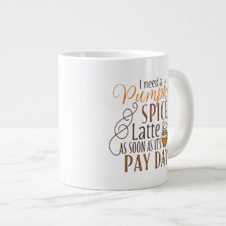 Necesito una especia Latte de la calabaza Taza De Café Gigante