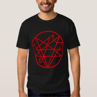 Necronomicon Satanic Pentagram Camiseta