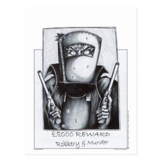 Ned Kelly (poster querido) Postal