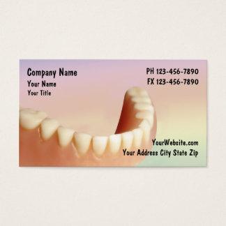 Negocio Cards_2 del dentista Tarjeta De Negocios