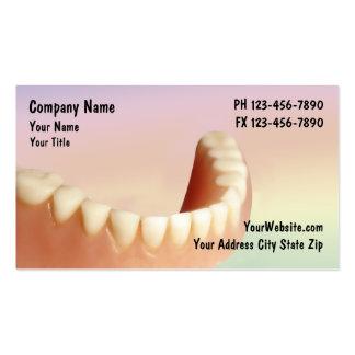 Negocio Cards_2 del dentista Tarjetas De Visita