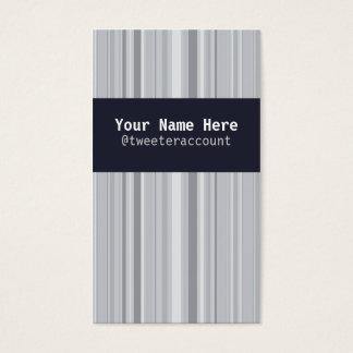 Negocio clásico tarjeta de visita