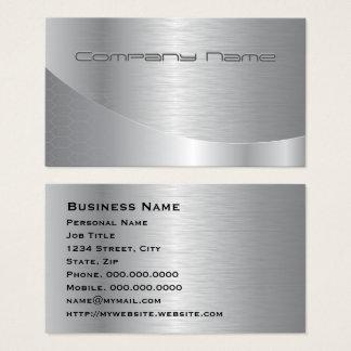 Negocio corporativo moderno grabado en relieve de tarjeta de negocios