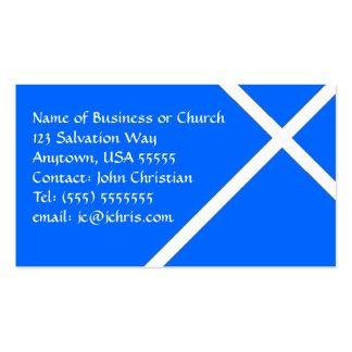 Negocio cristiano de la tarjeta para las iglesias plantilla de tarjeta de negocio