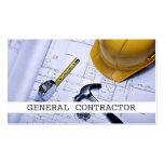 Negocio de construcción de general Contractor Tarjetas Personales