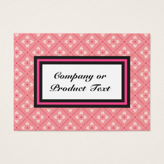 Negocio de encargo rosado de Lotus 1/S/tarjeta del Tarjeta De Negocios