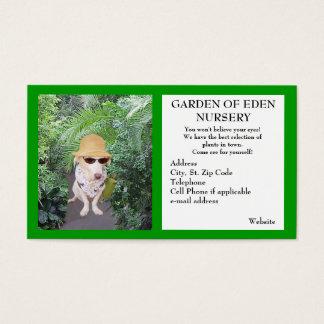 Negocio del cuarto de niños del jardín tarjeta de negocios