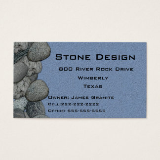 Negocio del paisaje/del albañil de piedra tarjeta de visita
