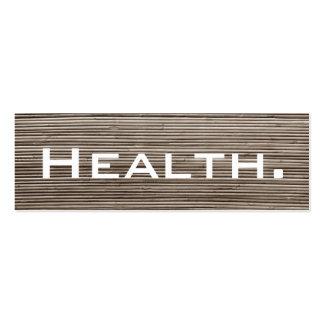 Negocio del profesional de salud Tarjeta-Flaco Tarjetas De Visita Mini