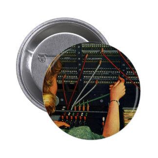 Negocio del vintage, empleo del operador de chapa redonda de 5 cm