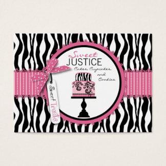 Negocio elegante Card_SJ del boutique Tarjeta De Negocios