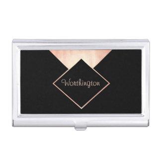 Negocio profesional moderno de moda del oro color cajas de tarjetas de negocios