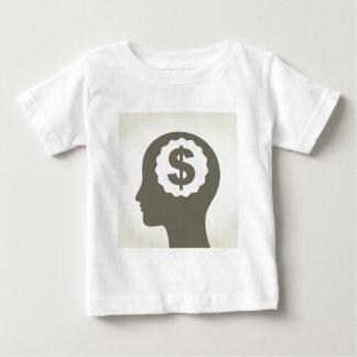 Negocio una cabeza camiseta de bebé