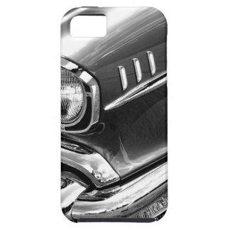 Negro 1957 y blanco del Bel Air de Chevrolet Funda Para iPhone SE/5/5s