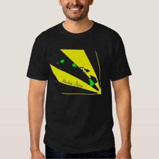 Negro de Āina 01 de la hawaiana ' Camisetas