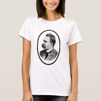 Negro de Friedrich Nietzsche o el regalo de Zazzle Camiseta
