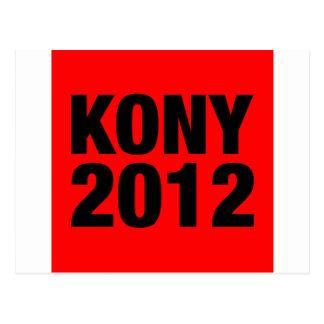 Negro de Kony 2012 en Plaza Roja Postal
