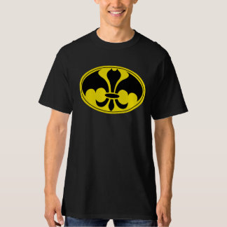 Negro de la camisa del super héroe de Datman