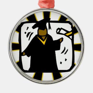 Negro de recepción graduado y oro del diploma (1)