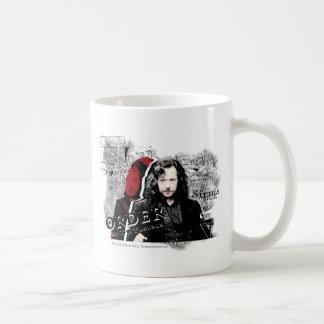 Negro de Sirius Taza De Café