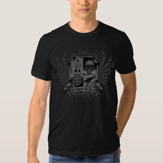 Negro de Steampunk - por el anuncio Astra de Camisetas