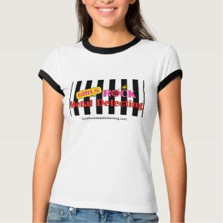 Negro del campanero T de las señoras de GRMD y Camiseta