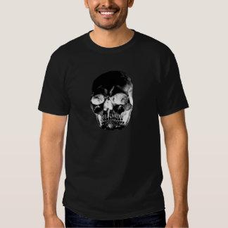 Negro del cráneo los regalos de Zazzle del MUSEO Camiseta