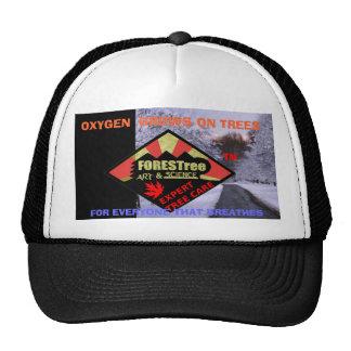 Negro del gorra del OXÍGENO de FORESTree