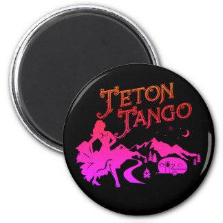 Negro del imán del tango de Teton