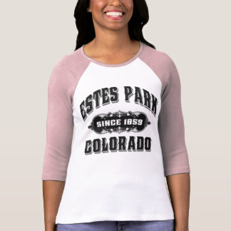 Negro del parque de Estes desde 1859 Camiseta