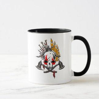 Negro del pirata taza combinada del campanero de