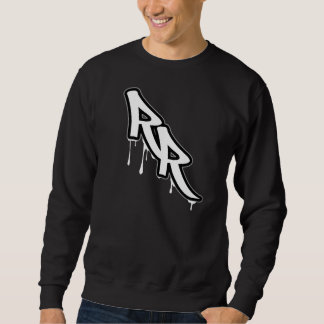 NEGRO del suéter del RR