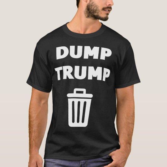 Negro del triunfo de la descarga camiseta