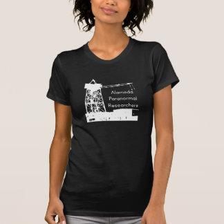Negro del vintage de las señoras de ABRIL Camiseta