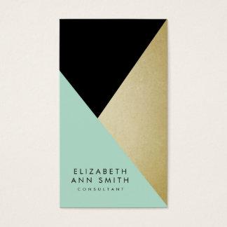 Negro elegante y paquete abstracto de la tarjeta