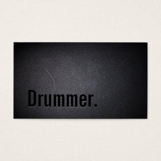 Negro fresco minimalista del texto intrépido del tarjeta de negocios