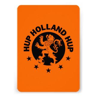 Negro Hup Holanda - color de fondo Editable Anuncio