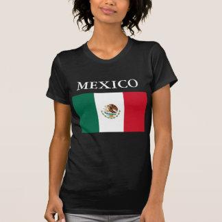 Negro menudo de la camiseta de las señoras de la