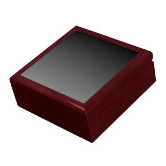 Negro para estañar la plantilla de la pendiente cajas de joyas