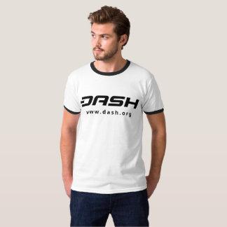 Negro para hombre del campanero de la ROCIADA Camiseta