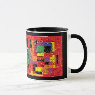 Negro taza combinada de 11 onzas