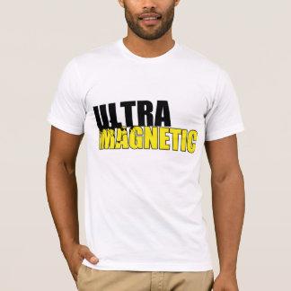 Negro y amarillo ultra magnéticos camiseta