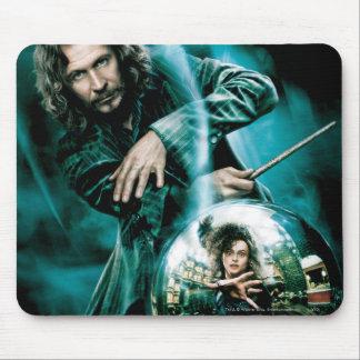 Negro y Bellatrix Lestrange de Sirius Alfombrilla De Ratón