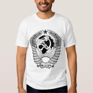 Negro y blanco del escudo de armas de Unión Camiseta