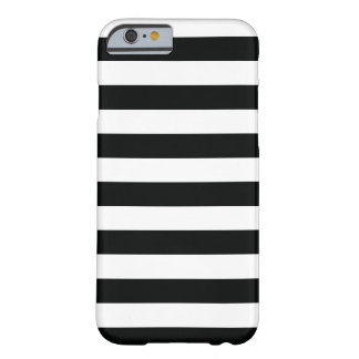 (Negro y blanco el | horizontal) personalizable Funda Barely There iPhone 6