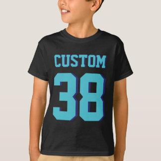 Negro y diseño del jersey de los deportes de los