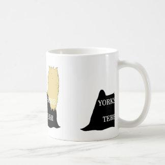 Negro y moreno conocidos del silo de Yorkshire Taza De Café
