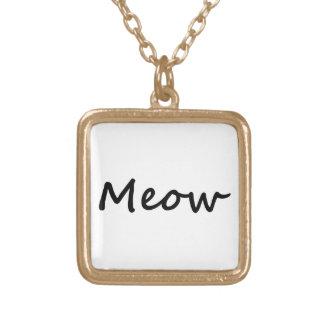 Neko del gatito de la voz del gatito del gato del  colgante cuadrado