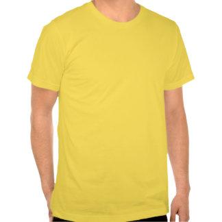 Neón de la hawaiana camiseta